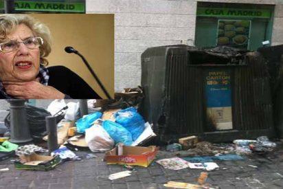 El 'Madrid sucio' de Carmena y los zarrapastrosos de Podemos entra por fin en campaña