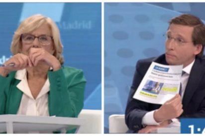 Martínez-Almeida (PP) se zampa de un bocado a Carmena y no deja ni las migas de la alcaldesa