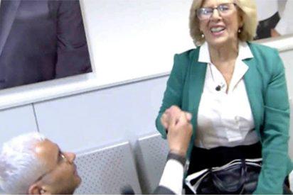Linchan en Twitter a Jorge Javier Vázquez por su 'peloteo extremo' a Manuela Carmena