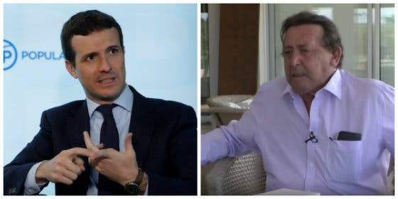 Alfonso Ussía mete el miedo en el cuerpo a Pablo Casado insinuando sus intenciones electorales