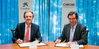 CaixaBank y la CEOE acuerdan una línea de financiación para empresas de 20.000 millones de euros para el período 2019-2020