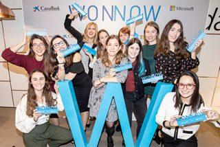 CaixaBank y Microsoft Ibérica galardonarán a las mejores alumnas de grados universitarios técnicos a través de los Premios WONNOW