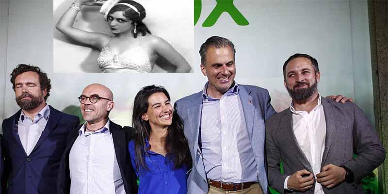 """VOX se cachondea de Carmena y los de Podemos tirando de un chotis de Celia Gámez: """"¡Ya hemos pasao!"""""""
