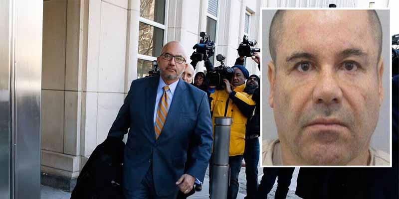 'El Chapo' Guzmán pide que le quiten de enmedio a Eduardo Balarezo, su abogado