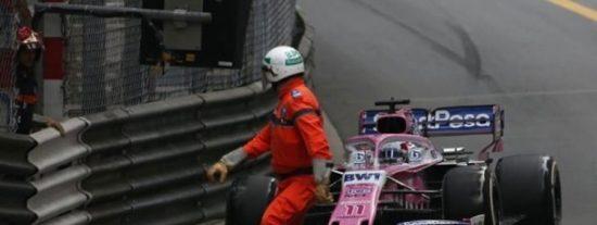 Un piloto mexicano evita por centímetros una tragedia en la Fórmula 1: