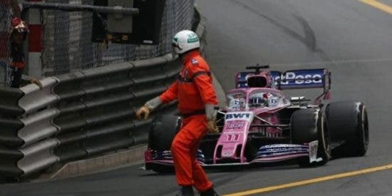 """Un piloto mexicano evita por centímetros una tragedia en la Fórmula 1: """"¡Casi lo mato!"""""""
