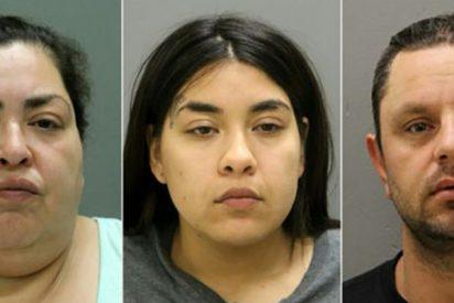 Las caras de los tres monstruos que mataron y le arrancaron el bebé a la joven embarazada Marlen Ochoa