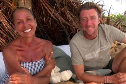 Isabel Pantoja y Colate comparten confidencias, sonrisas y miraditas durmiendo juntos en un colchón
