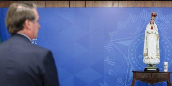 Bolsonaro participa en la consagración de Brasil al Corazón Inmaculado de María