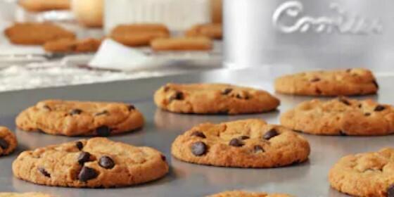 galletas veganas con chips de chocolate