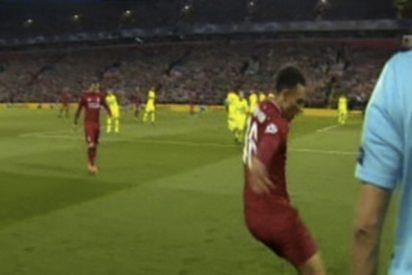 ¿Estaba ensayada la jugada del inquietante córner del Liverpool ante el Barcelona?