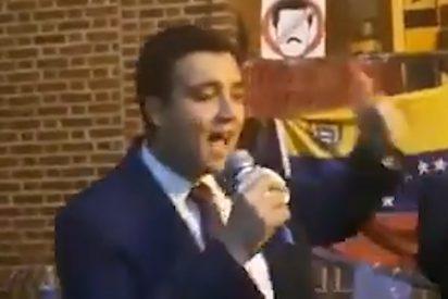 """Dejan sin luz a los chavistas que invadieron la Embajada de Venezuela en EEUU: """"Verán la experiencia de vivir en bajo el socialismo fracasado"""""""