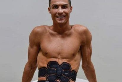 Cristiano Ronaldo y el super timo de la máquina que promete darte sus abdominales
