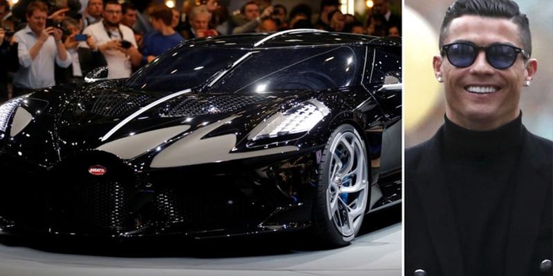 Así es el nuevo cochazo de Cristiano Ronaldo: un inédito Bugatti de USD 12 millones