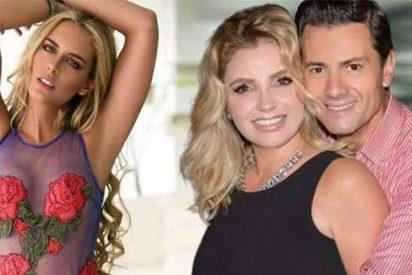 La sensual Tania Ruiz seduce al expresidente Peña Nieto con su bodysuit blanco