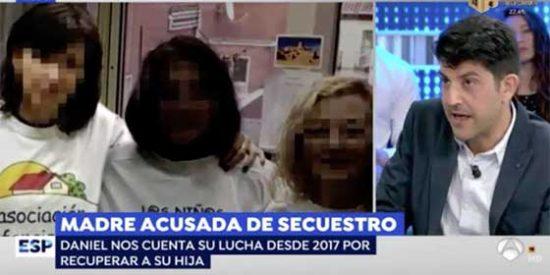 El padre de la niña secuestrada desmonta con contundencia la excusas de Podemos respecto a su vinculación con la asociación criminal 'Infancia Libre'