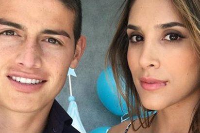 Daniela Ospina luce este mini bañador que deja fuera de juego a James Rodríguez