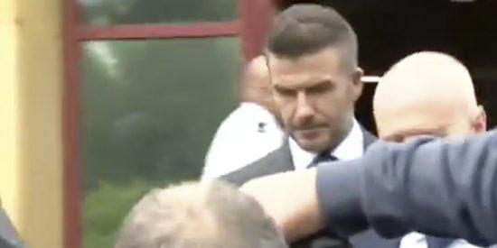 David Beckham pierde su carnet de conducir