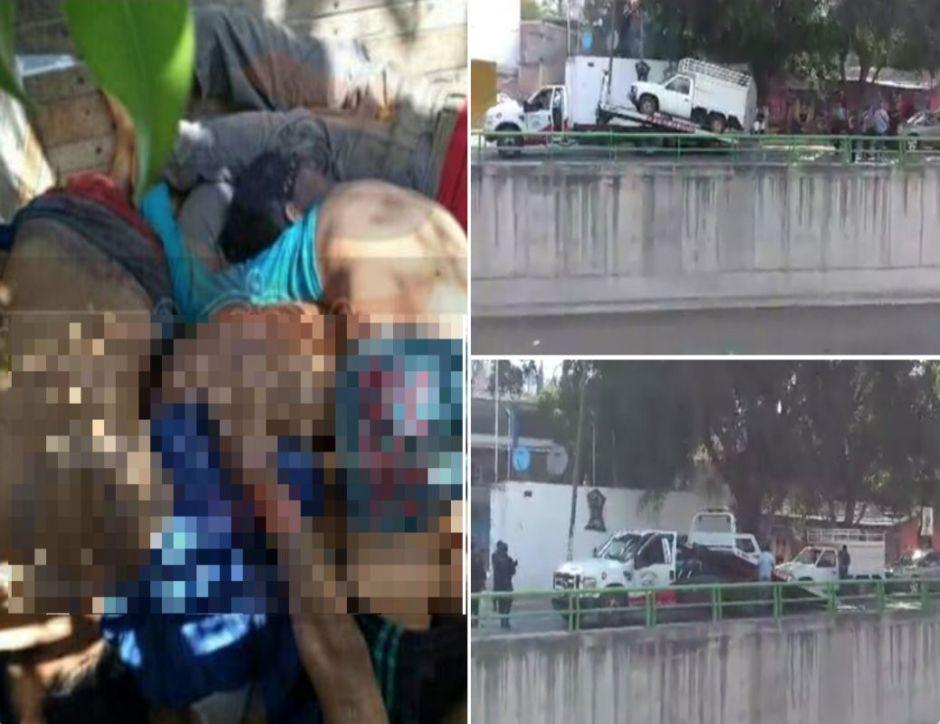 Narcos abandonan ocho cuerpos torturados y apilados dentro de vehículo en México