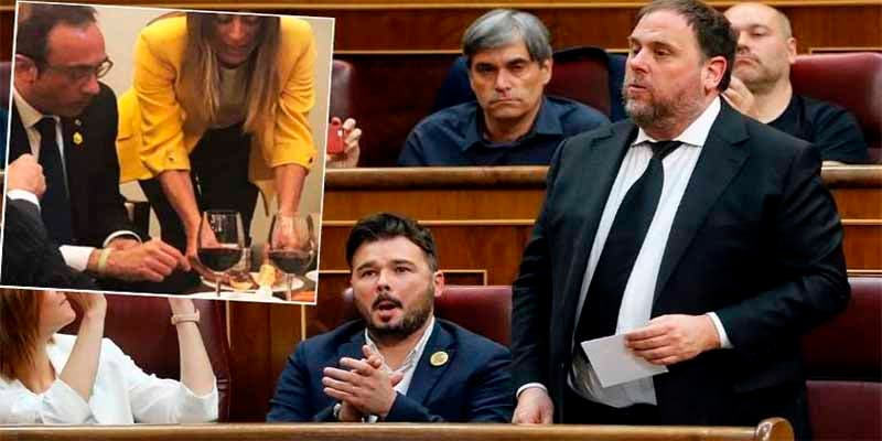 Tortilla, jamón y vino tinto: el 'desayuno español' con el que Ana Pastor agasajó a los golpistas