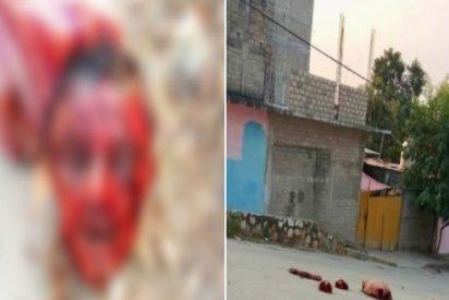 Narcoterror en México: Dejan un cuerpo descuartizado, decapitado y con narcomanta