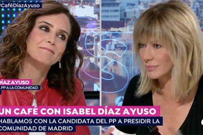 Griso machaca a Díaz Ayuso con sus 'mayores pisadas de charco' y la del PP responde acusando de manipular