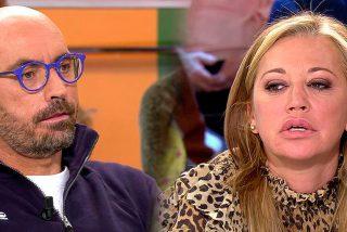 El tenso e irónico recibimiento de Diego Arrabal a Belén Esteban en 'Viva la vida'