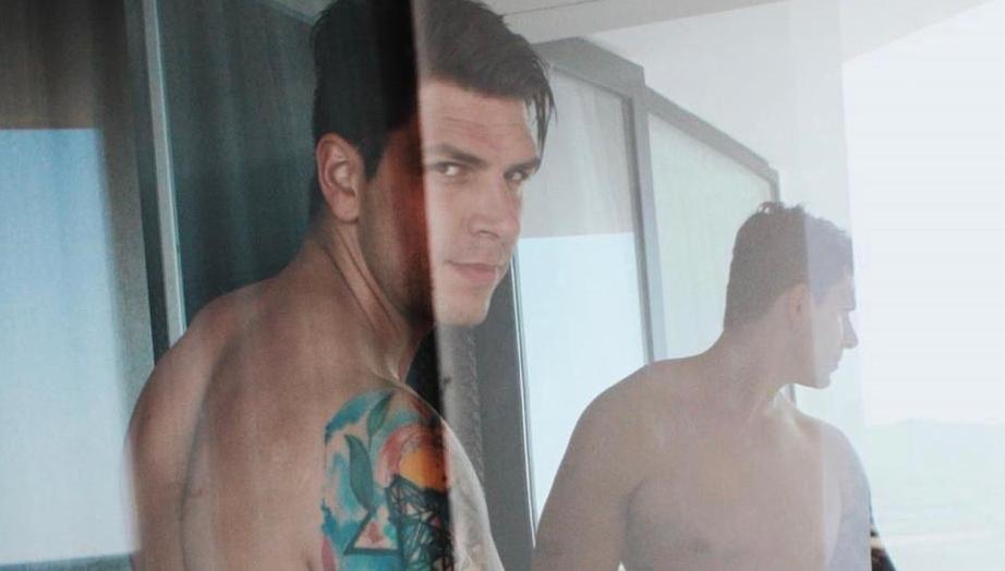Diego Matamoros incendia Instagram con una foto... ¡completamente desnudo!
