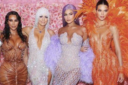 MET 2019: El vestidito transparente de Kylie Jenner que dejó opacas a Jennifer López y a Kim Kardashian