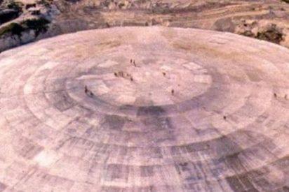 """Así es el domo de Runit, el """"ataúd nuclear"""" que gotea material radioactivo en un atolón del océano Pacífico"""