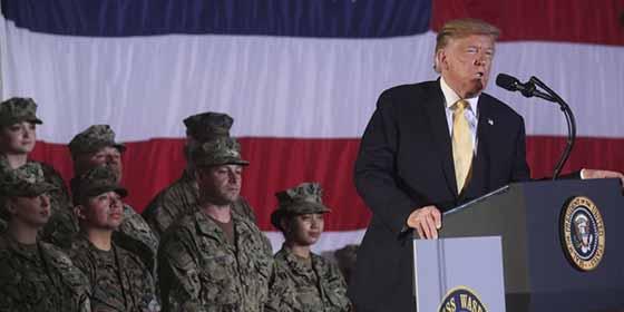 """Donald Trump destacó la potencia militar de EEUU contra China y Corea: """"Somos los más temibles guerreros"""""""