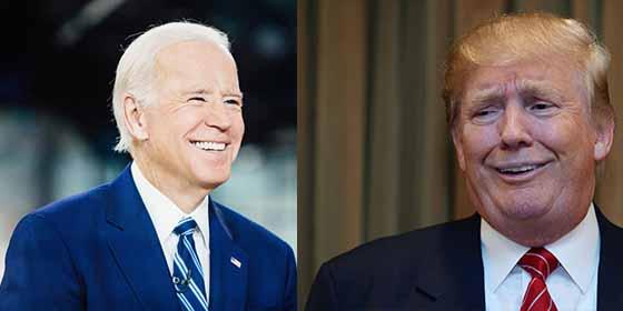 Trump intentó pasar por gracioso burlándose de Joe Biden, pero un error volvió los memes en su contra