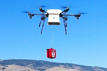 Un hospital entrega por primera vez un riñón con un dron