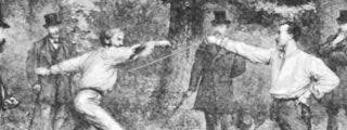 El vídeo del último duelo a espada en la historia de Francia, hace apenas medio siglo