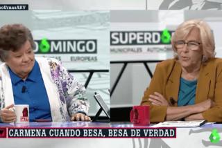 Cómo se aprovechó Cristina Almeida para 'enganchar' a Ferreras en pleno directo...