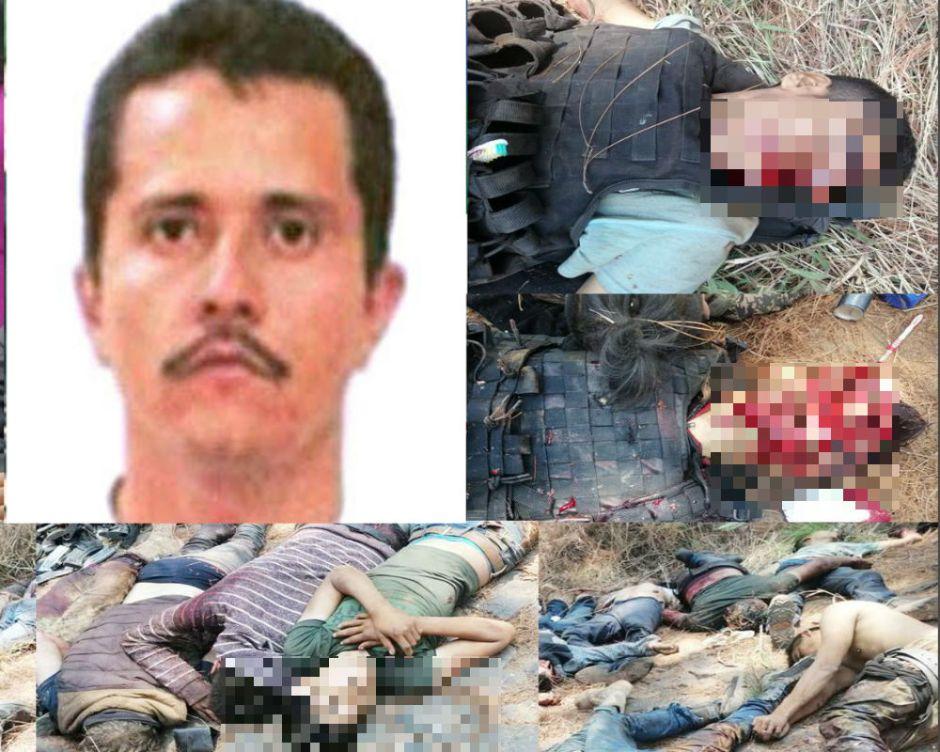 """""""El Mencho"""" desata su furia y estas son las imágenes que deja su matanza en Michoacán"""