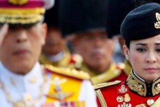 El rey de Tailandia anuncia que el país tendrá una nueva reina: la ex azafata y general Suthida