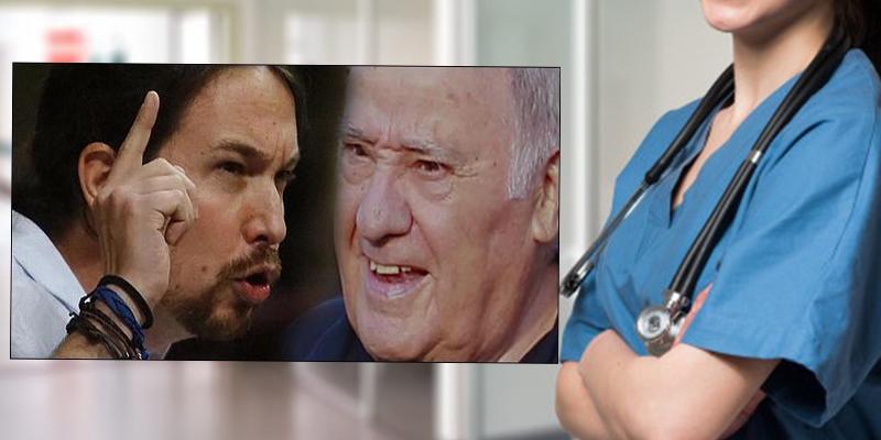 La respuesta viral de una enferma especialista en cáncer tras el desprecio de Podemos a las donaciones de Amancio Ortega