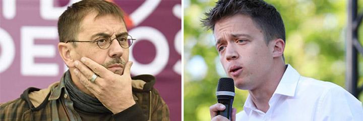 El batacazo electoral desespera a Errejón y le hace reaccionar y revolverse -por fin- contra el 'bullying' de Monedero