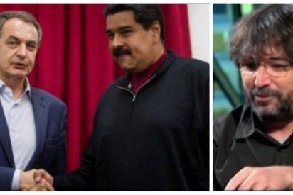 Un lamentable Jordi Évole saca la cara por Zapatero y echa la culpa a la oposición a Maduro del caos en Venezuela