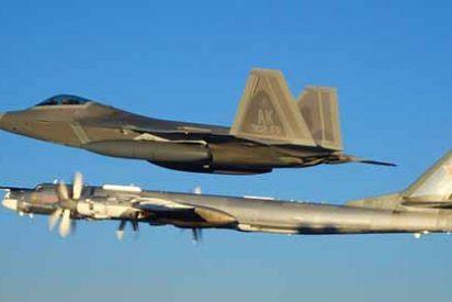 Aviones de combate de EEUU interceptaron a dos cazas y a cuatro bombarderos rusos en Alaska