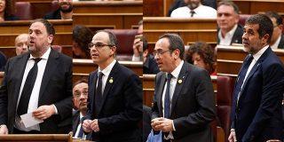 Los letrados del Congreso avalan la suspensión de los cuatro diputados presos por el 'procés'