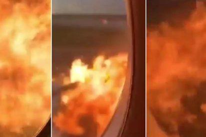 El vídeo de un pasajero del avión ruso envuelto en llamas, nueva muestra de la insensibilidad nacida con las redes