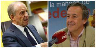 """José María García se envenena con un Hermann Tertsch sorprendido por el ataque: """"Ese periodista y ahora político me produce arcadas"""""""