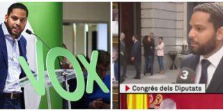 ¡Milagro! Ignacio Garriga aparece en las cámaras de TV3 durante 2 minutos a la puerta del Congreso