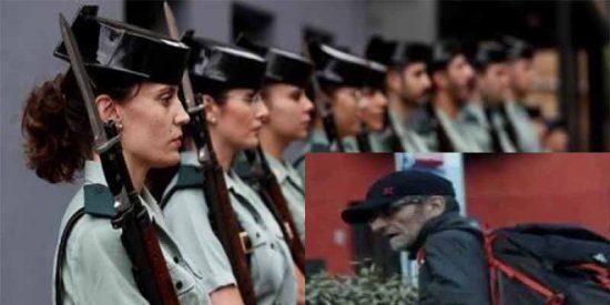 4.000 aspirantes a la Guardia Civil piden impugnar una prueba de ortografía por utilizar palabras en desuso o inexistentes