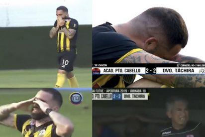 Mete el gol del empate en el minuto 91, pero llora desconsolado porque elimina al equipo de su padre