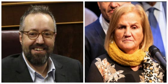 "El memorable zasca de Juan Carlos Girauta a Núria de Gispert: ""Chúpame un pie"""
