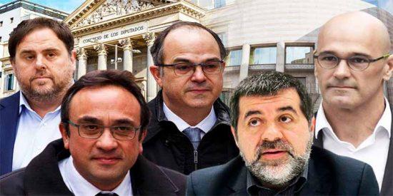Los diputados golpistas catalanes cobrarán 18.000 € del sufrido contribuyente español, a pesar de estar suspendidos