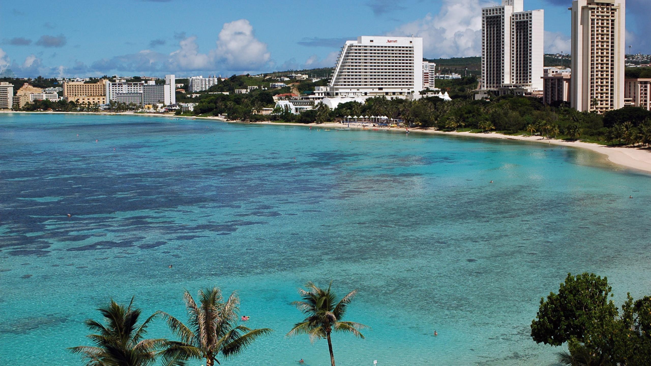 """Isla de Guam: """"Donde comienza el día de Estados Unidos"""""""